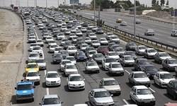 ترافیک نیمه سنگین در ورودیهای شرقی پایتخت/ هراز یکطرفه نشد
