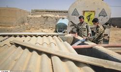 گوشهای از جهاد آبی سپاه در غیزانیه