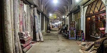 بازار قزوین در روزگار کرونا