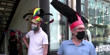 فاصلهگذاری اجتماعی با استفاده از کلاه