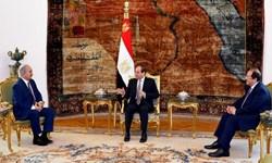 ژنرال حفتر با رئیس جمهور مصر در قاهره دیدار کرد
