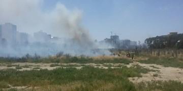 مهار آتشسوزی محوطه جامعه الزهرا