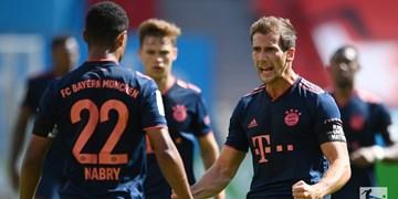 بوندس لیگای آلمان|پیروزی پرگل بایرن در بای آرنا/توقف خانگی لایپزیگ در دقیقه 90