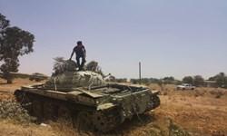 تسلط نیروهای غرب لیبی بر مسیر امدادرسانی اصلی شبهنظامیان شرق لیبی