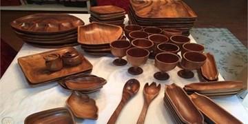 احیای هنر فراموششده گره چینی و ظروف چوبی در دامغان