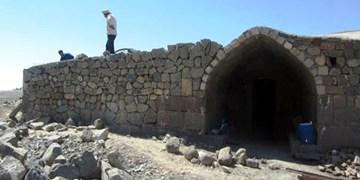 تداوم مرمت و ساماندهی کاروانسرای تاریخی «ایری» ورزقان