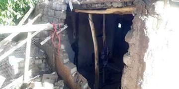 آسیب به  ۱۲ خانه روستای سقزچی خلخال براثر سیلاب و تندباد