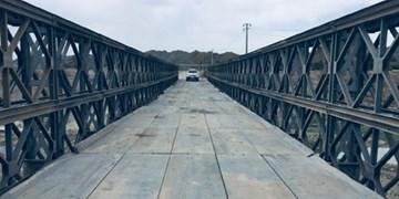 پل موقت جگین بالاخره ساخته شد/ وعده وزیر به مردمان ۵۴ روستای بشاگرد محقق شد+ فیلم