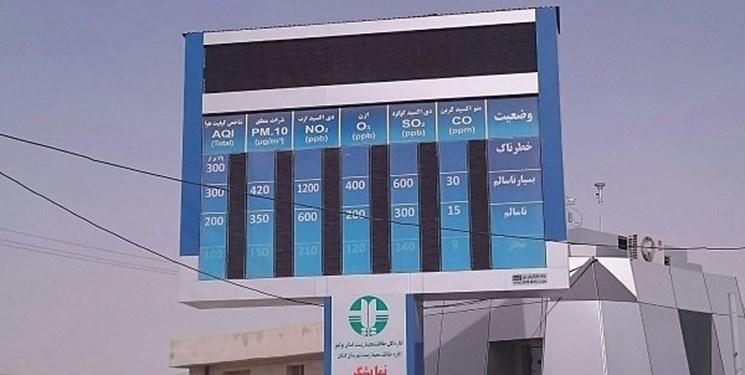 2 ایستگاه پایش آلودگی هوا در رفسنجان نصب میشود