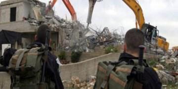 رژیم صهیونیستی خانه یک فلسطینی در قدس اشغالی را تخریب کرد