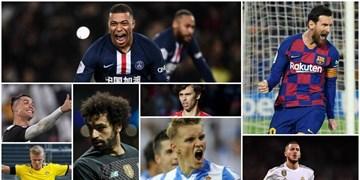 100  بازیکن ارزشمند دنیای فوتبال   امباپه با ارزش ترین؛ مسی در جایگاه 22 و رونالدو در رده 70  دنیا