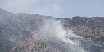 آتشسوزی مراتع علیآباد قم در ارتفاعات 2200 متری مهار شد