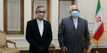 خداحافظی سفیر اندونزی با ظریف