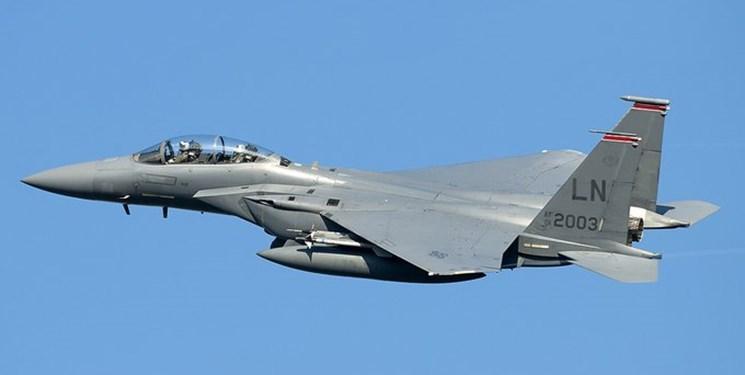 آمریکا جدیدترین بمب اتمی خود را بر روی یک جنگنده «اف-15 ایگل» آزمایش کرد