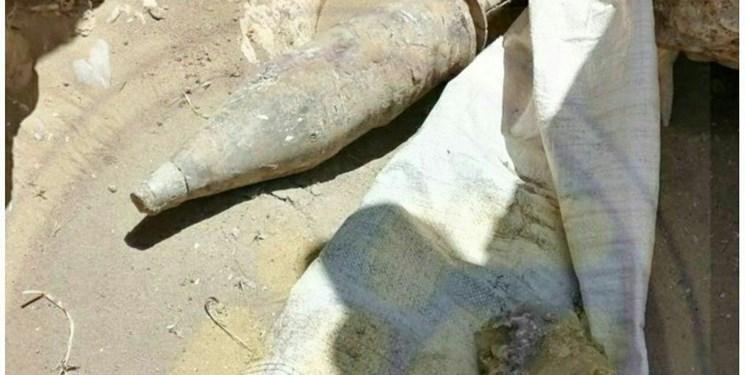 کشف و خنثیسازی راکت به جا مانده از دوران جنگ تحمیلی در پلدختر