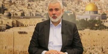 هنیه درگذشت سردار حجازی را به فرمانده نیروی قدس سپاه تسلیت گفت