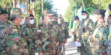 سرلشکر موسوی از «قرارگاه عملیاتی لشکر 58» و «تیپ 158» نیروی زمینی ارتش بازدید کرد
