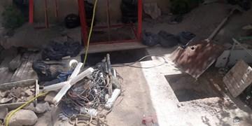دستگیری باند حفاری غیرمجاز و کشف دستگاه فلزیاب در شهرستان اسکو