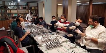هیأتیها دوباره دست به کار شدند/ آمادهسازی ۱۰ هزار شیلد برای خوزستانیها و سیستانیها