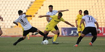 پیروزی شاهین مقابل پارس جنوبی در پایان نیمه اول