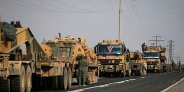 ترکیه تجهیزات جدید جنگی از جمله توپ و تانک به سوریه ارسال کرد