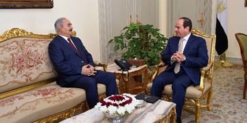 رسانه مصری: حفتر در مصر میماند تا جایی برای بازنشستگی پیدا کند