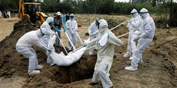دهلی نو به سانسور آمار واقعی فوتیهای کرونا متهم شد