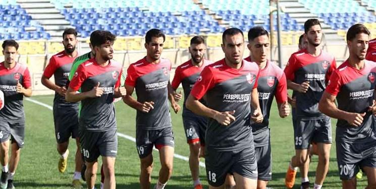 گزارش تمرین پرسپولیس | فوتبال درون تیمی و تمرین اختصاصی 4 سرخپوش