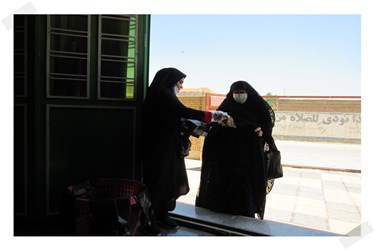 نخستین نماز جمعه با رعایت پروتکل بهداشتی در دهدشت