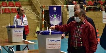 برگزاری پنجمین دوره انتخابات مجامع جمعیت هلال احمر در اردبیل