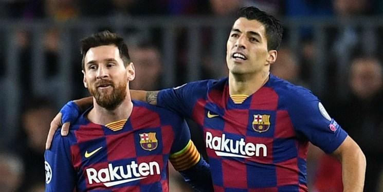 سوارس و مسی برترین گلزنان لالیگا در دوران پساکرونایی