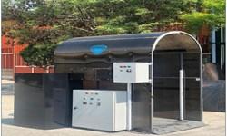 ساخت تونل و دستگاه ضدعفونیکننده کاغذ در واحد خمینیشهر