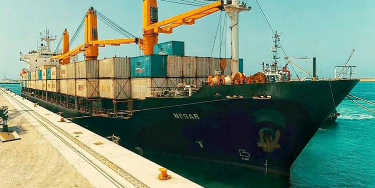 هفتمین کشتی حامل گندم هند به چابهار رسید