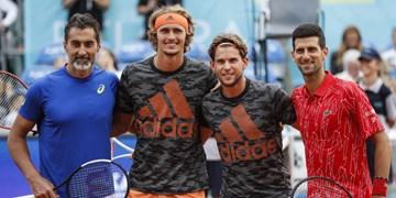 به دنبال تست مثبت کرونا دمیتروف؛ فینال تنیس تور آدریا لغو شد
