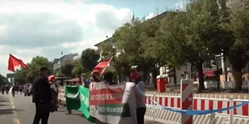 زنجیره 5 هزار نفری در برلین و 10 شهر دیگر آلمان در اعتراض به نژادپرستی