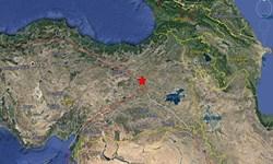 زلزلهای به بزرگی ۵.۹ ریشتر شرق ترکیه را لرزاند