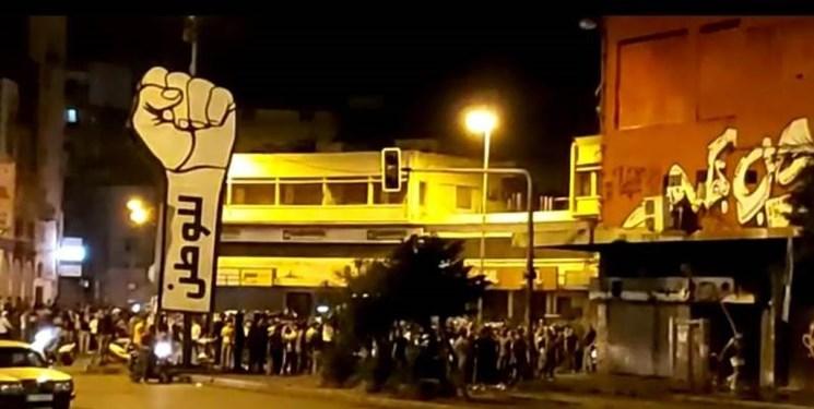 معترضان لبنانی صف خود را از آشوبگران جدا کردند
