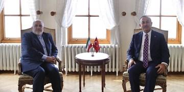 گفتوگوی تلفنی ظریف و همتای ترکیهای درباره تحولات سرزمینهای اشغالی