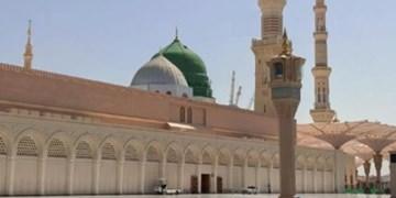 زمان تشرف به حرم نبوی کاهش یافت/ خلوتی مسجدالنبی(ص) در بامداد امروز +فیلم