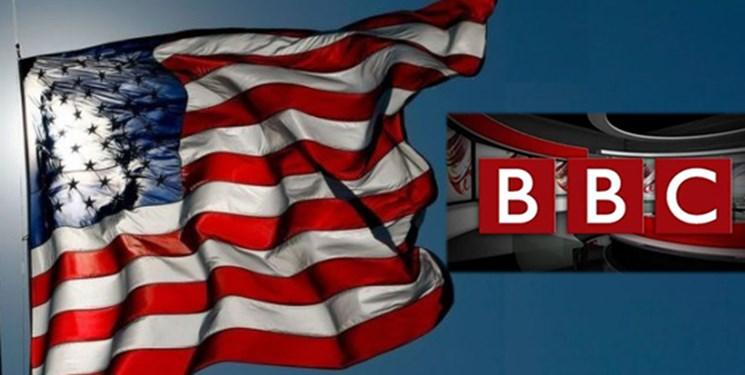 ماله BBC برای آتش زدن پرچم آمریکا توسط آمریکاییها