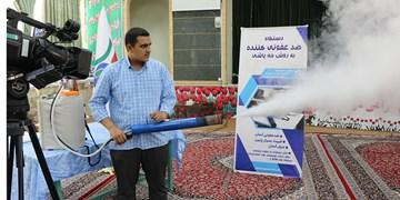 برای نخستین بار در کشور انجام شد/ طراحی و ساخت دستگاه ضدعفونی کننده فوگر حرارتی توسط دانشجویان بسیجی تبریز