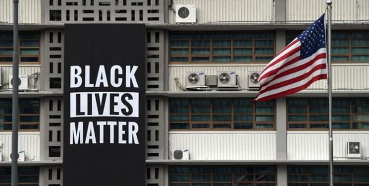 دستور پامپئو برای حذف تابلو حامی حقوق سیاهپوستان از سفارت آمریکا در سئول