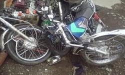 واژگونی موتورسیکلت در دورود دو کشته بر جای گذاشت
