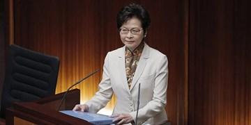 فرماندار هنگکنگ مخالفان لایحه امنیتی پکن را دشمنان ملت خواند