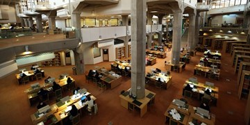 فارس من| تالارهای عمومی کتابخانه ملی ایران بازگشایی شد