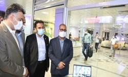راه اندازی دوربینهای «تبسنج حرارتی» در فرودگاه بندرعباس+عکس