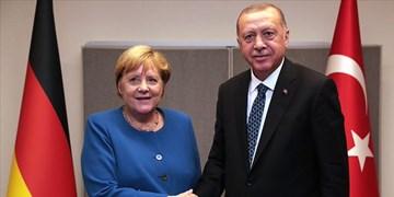 رایزنی اردوغان و مرکل درخصوص آخرین تحولات لیبی و شرق مدیترانه