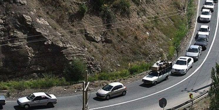 اعمال محدودیتهای ترافیکی در محور کرج-چالوس