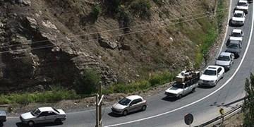محدودیتهای ترافیکی در جاده کرج-چالوس لغو شد