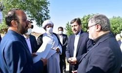 معاون وزیر کشور وارد «فردوس» شد